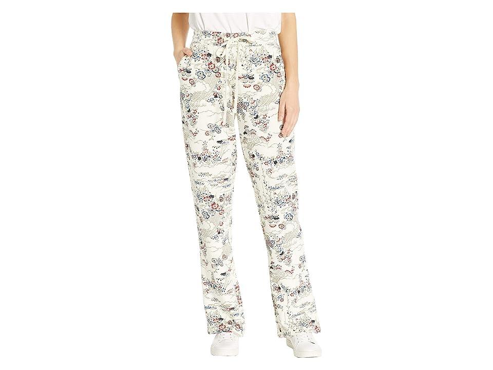Lucky Brand Kimono Garden Sweatpants (Natural Multi) Women