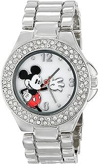 silver disney watch