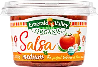Emerald Valley Kitchen, Organic Fresh Salsa, Medium, 14 oz
