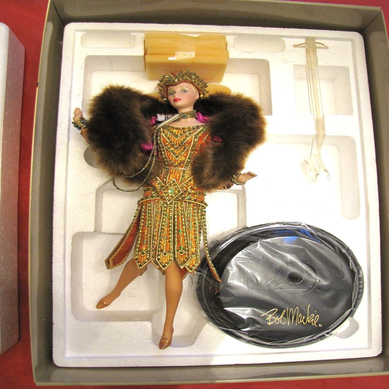Mattel Barbie Barbie The Charleston Porcelain Doll Bob Mackie 2nd in Series Limited Edition Celebration of Dance (2000)