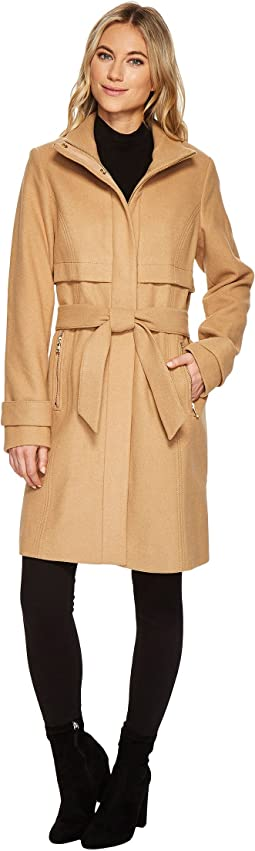 Vince Camuto - Belted Wool Coat N1121