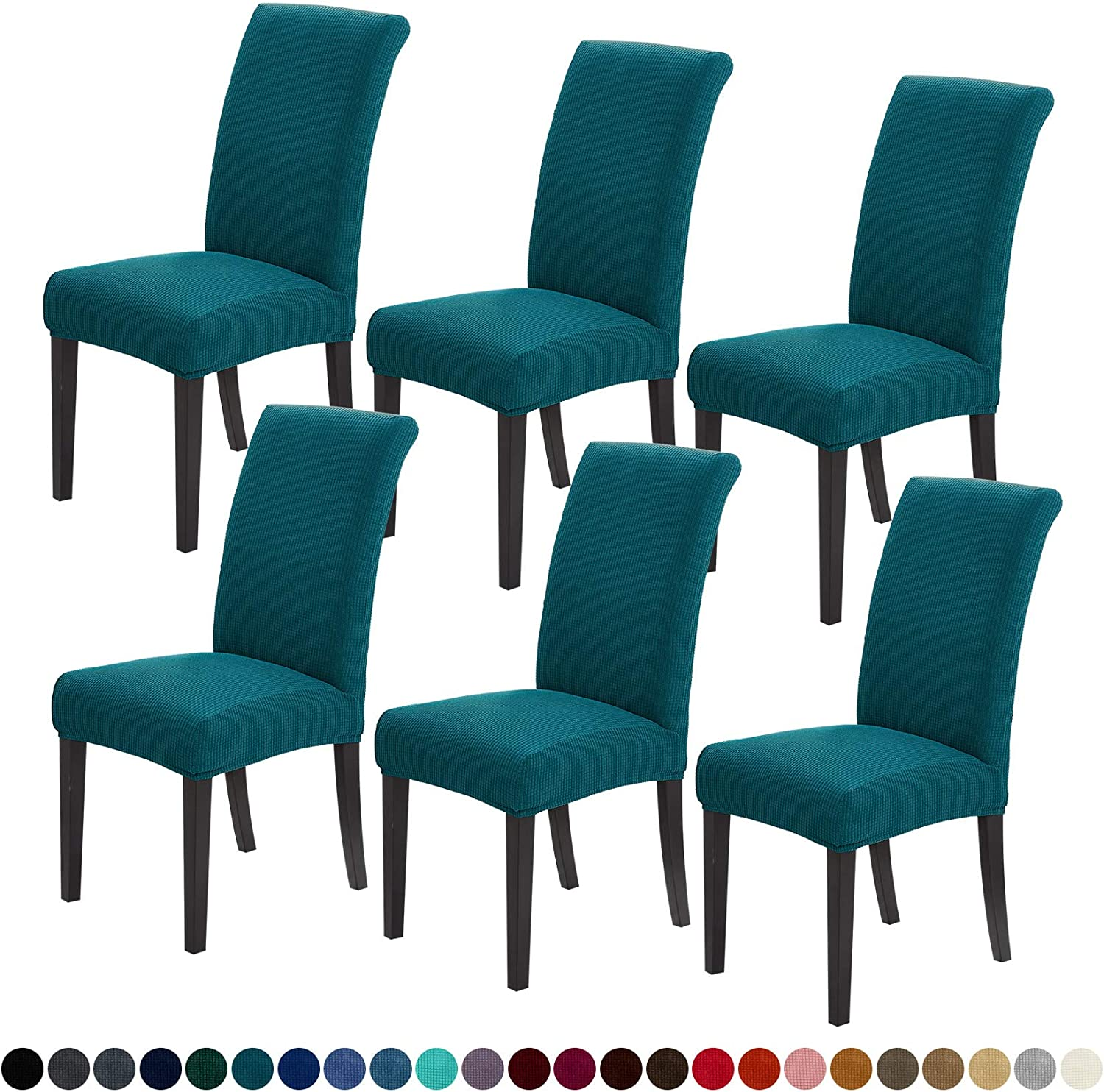 Joccun Chair Covers for Dining Room latest Repellent 2021new shipping free 6 of Set Din Water
