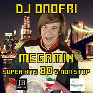 Megamix 80 's Italo Disco Non Stop: Don't Cry Tonight / One Night in Bangkok / Never Gonna Give You Up / State of the Nation / Nell'aria / Easy Lady / Masterpiece / I Like Chopin / Boys (Summertime Love) / Fotonovela / Self Control / Catch the F