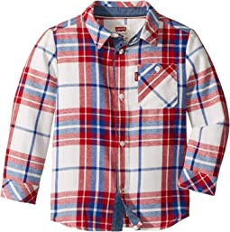 Long Sleeve Woven Shirt (Toddler)