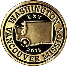 Bennett Brands LDS Washington Vancouver Mission Commemorative Lapel Pin