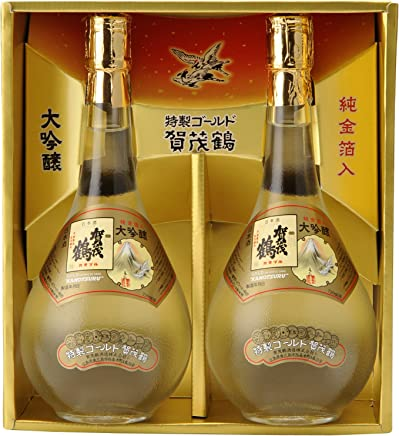 賀茂鶴 大吟醸 特製ゴールド賀茂鶴 GK-B2 [ 日本酒 広島県 720ml×2本 ]