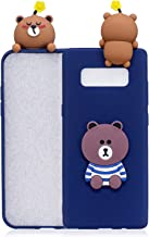 Galaxy Note 8 Case, Phenix-Color 3D Cute Cartoon Soft Silicone Hello Kitty Gel Back Cover Case for Samsung Galaxy Note 8 (2017) (#31)
