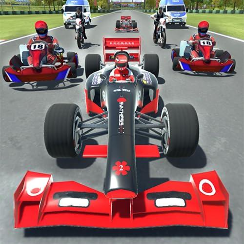 Kart vs Formula Racing Game