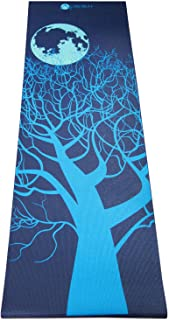"Aurorae Classic/Printed Extra Thick and Long 72"" Premium Eco Safe Yoga Mat with Non Slip Rosin Included"