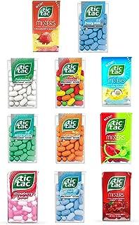 Tic Tac Gift Box 11 Flavors – Frosty Mint, Strawberry Fields, Wintergreen, Orange, Pina Colada, Fruit Adventure, Freshmint, Watermelon Lime, Cherry Cola, Mint Evolution, Strawberry Banana