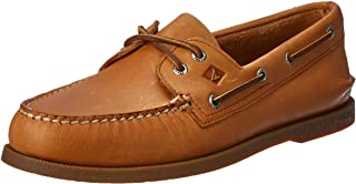Sperry Top-Sider Mens Authentic Original 2-Eye Boat Shoes, Genuine All Leather