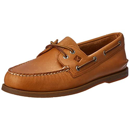 Men S Leather Boat Shoes Amazon Com