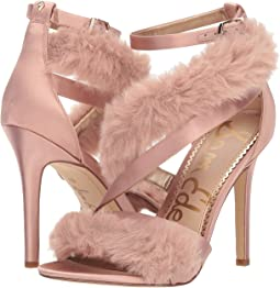 Crystal Pink Crystal Satin/Plush Fur