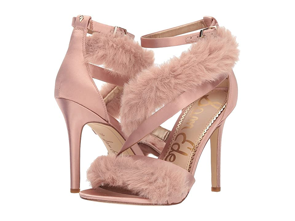 7688d4318 Sam Edelman Adelle (Crystal Pink Crystal Satin Plush Fur) Women s Shoes