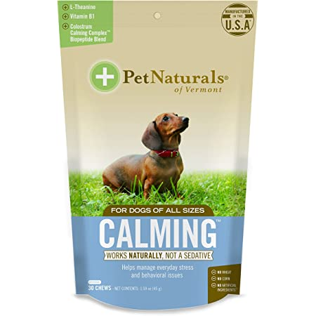 Calming for Dogs, Natural Behavior Support for Stress, Includes Naturally Sourced Anxiety Calming Ingredients in Treats and Creamy Peanut Butter Options for Occupier Toys.
