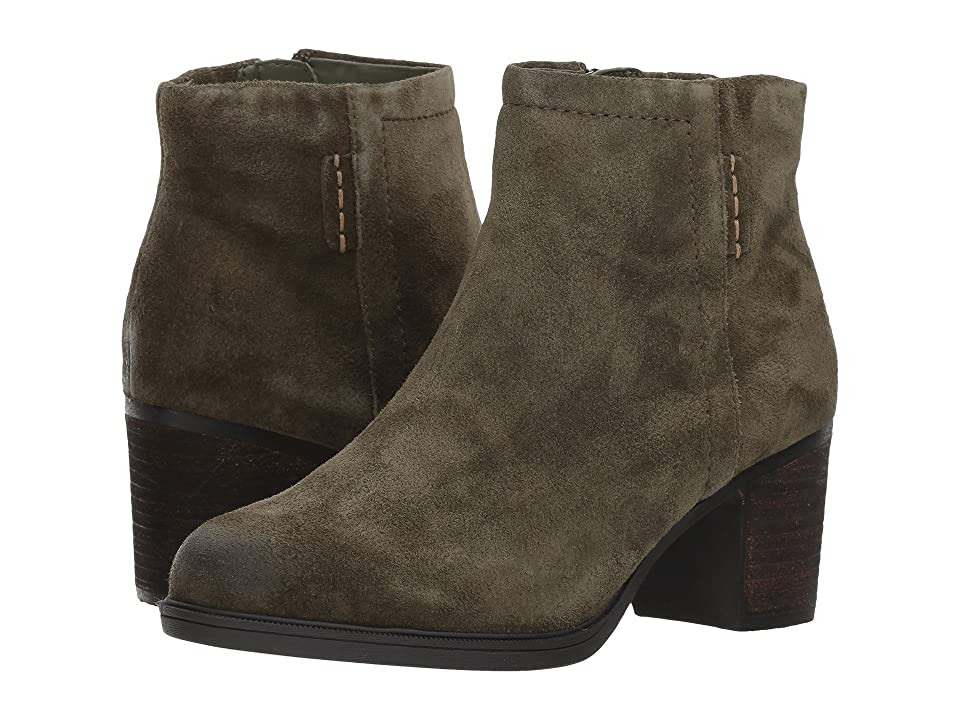 Rockport Cobb Hill Collection Cobb Hill Natashya Bootie (Green Suede) Women
