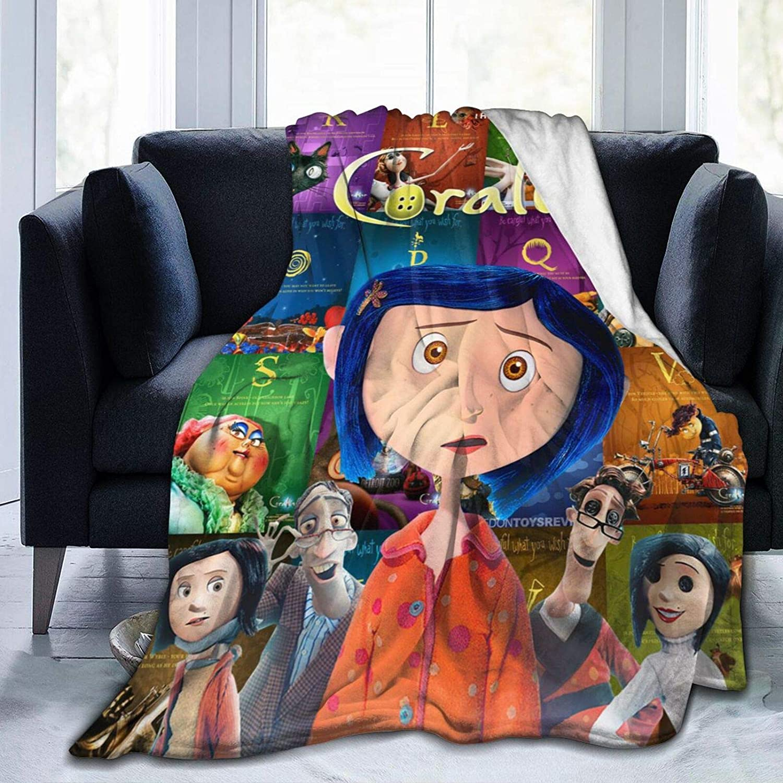 Bestrgi Ultra-Soft Micro Flannel Fleece Attention brand Printing Livi Colorado Springs Mall Blanket 3D