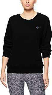Champion Women's Logo Crew Pullover Sweat