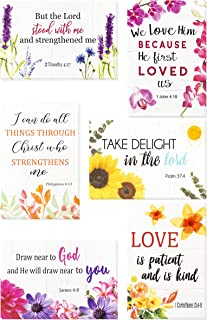 Best Christian Greeting Cards - 60 Inspirational Greeting Cards -Bible Verse Greeting Cards- Motivational Greeting Cards -Religious Greeting Cards- 60 Scripture Greeting Cards with 60 Envelopes, 4 x 6 Inch Reviews