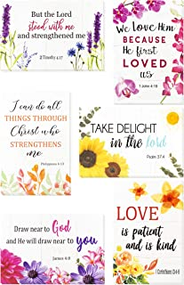 Christian Greeting Cards - 60 Inspirational Greeting Cards -Bible Verse Greeting Cards- Motivational Greeting Cards -Religious Greeting Cards- 60 Scripture Greeting Cards with 60 Envelopes, 4 x 6 Inch