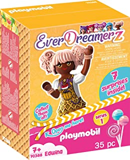 PLAYMOBIL EverDreamerz Edwina with Heart Waffle Charm & 7...