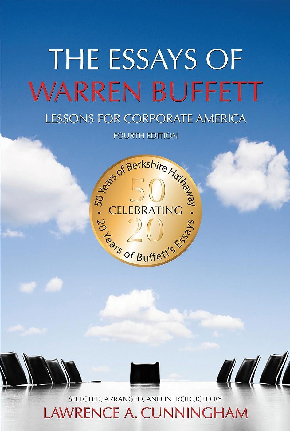 反乱成分遺伝子The Essays of Warren Buffett: Lessons for Corporate America, Fourth Edition (English Edition)