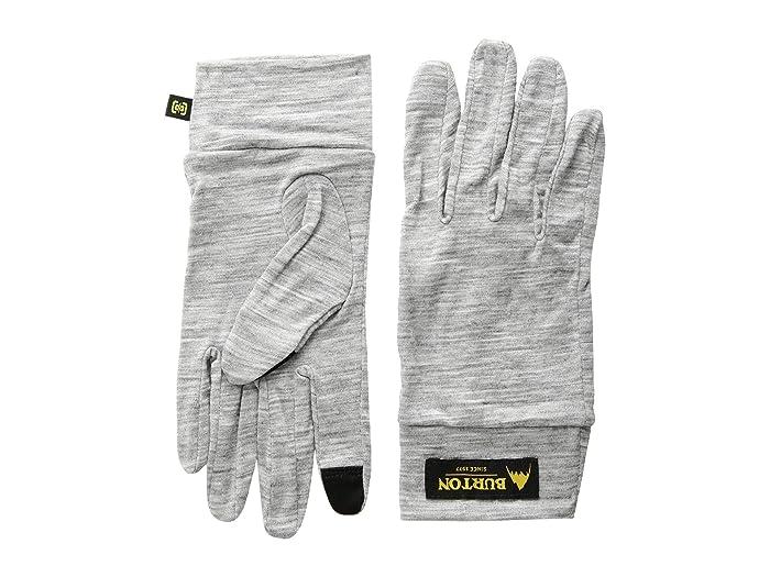 Burton Merino Wool Liner Gloves (Monument Heather) Liner Gloves
