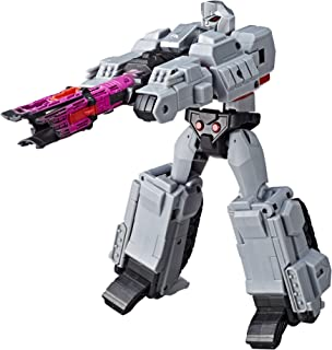 Transformers ToysMegatronCyberverse Ultimate Class Action Figure RepeatableFusion Mega Shot Action Attack Move Toys for Kids 6 and Up,11.5 Inch