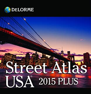 DeLorme Street Atlas USA 2015 Plus
