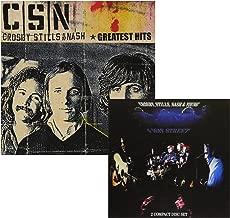 Greatest Hits - 4 Way Street (Greatest Hits Live) - Crosby, Stills, Nash & Young - 2 CD Album Bundling