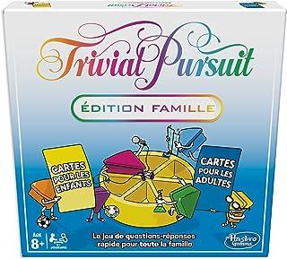 Trivial Pursuit Famille, Jeu de Societe de Réflexion, Version Française