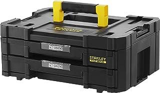 Stanley FMST1-71969 FatMax Pro Stack Gereedschapskoffer, 8 liter, met 2 laden en organizers voor kleine onderdelen, met me...