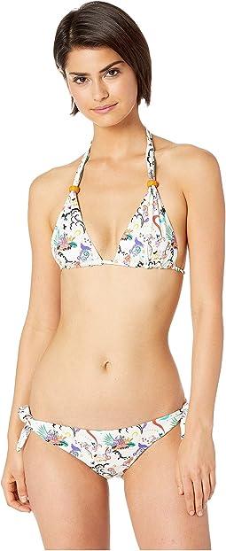 Fairy Print Halter Bikini