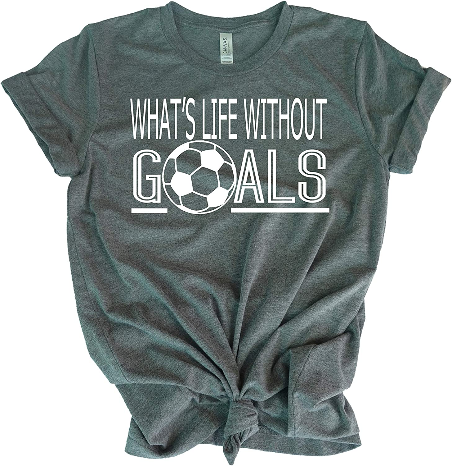 Soccer t-Shirt for Teen Louisville-Jefferson County Mall Girl- What's Max 75% OFF Shirt- Goals B Without Life