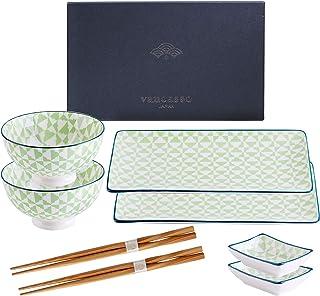 vancasso Serie Midori Sushi Set, Vajillas de Sushi, para 2