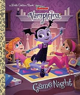 Game Night (Disney Junior Vampirina) (Little Golden Book)