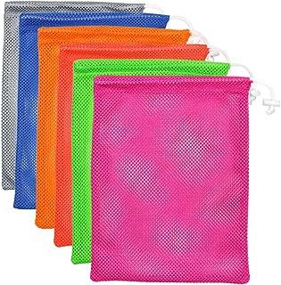 Mesh Stuff Sack, Laundry Bag,Golf Ball Bag, Durable Lightweight Nylon Mesh Bag with Cord Lock Closure