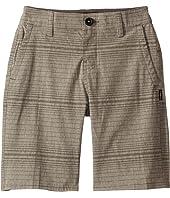 Locked Stripe Shorts (Big Kids)