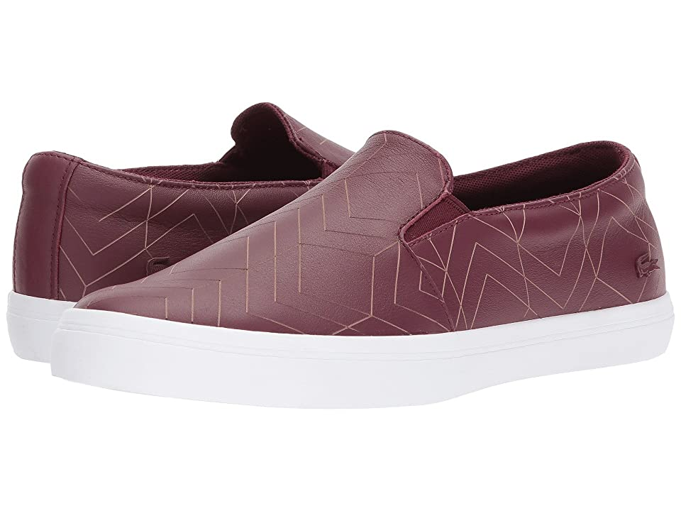 Lacoste Gazon 417 1 (Dark Burgundy) Women