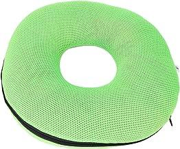 Almofada para tratamento de hemorróidas, almofada anti-escaras com núcleo interno elástico alto formato de rosca impermeáv...