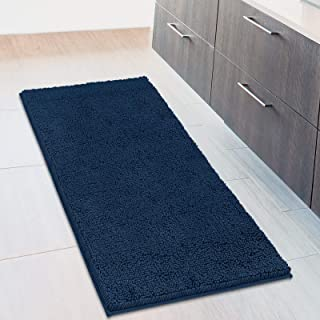 MAYSHINE Non-Slip Bathroom Rugs Shag Shower Mat Machine-Washable Bath mats Runner with Water Absorbent Soft Microfibers - ...