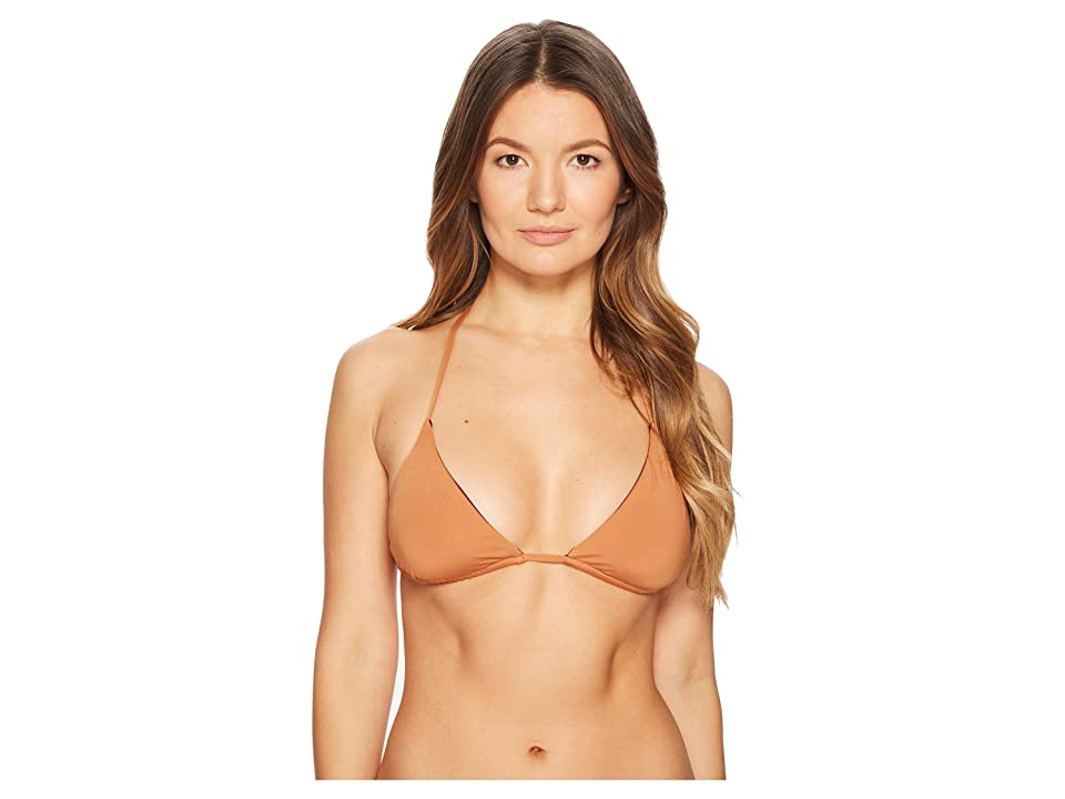 Skin Joan Top (Bronze/Burgundy) Women