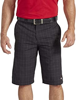 Dickies Men's 11 Inch Flex Active Waist Washed Yarn Dyed Short
