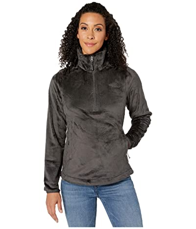 The North Face Osito 1/4 Zip Pullover (Asphalt Grey) Women