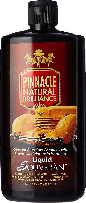 Pinnacle Natural Brilliance PIN-315 Liquid Max 72% excellence OFF Souveran Car Wax 16