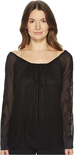 La Perla - English Rose In & Out Shirt