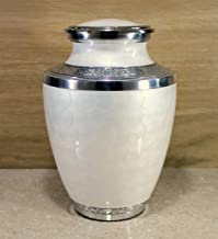 eSplanade Cremation urn Memorial Container Jar Pot | Cremation Urns | Metal Urns | Burial Urns.