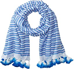 Candy Stripe Woven Oblong