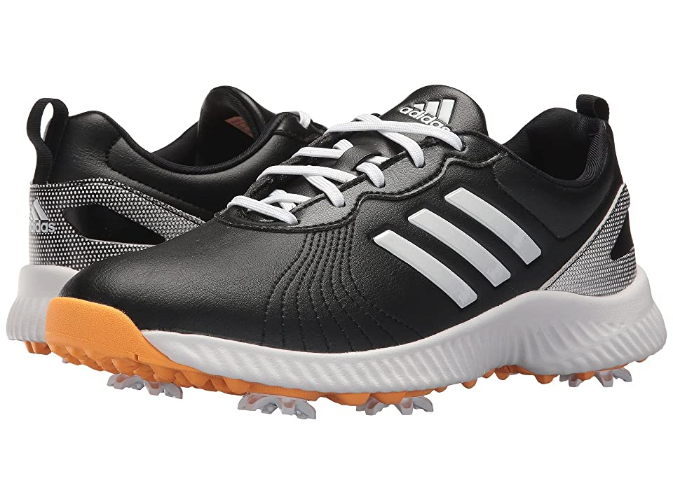 adidas Golf Response Bounce (Core Black/Footwear White/Real Gold) Women's Golf Shoes