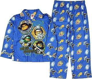 Nexo Knights Little Boys Flannel Coat Style Pajamas